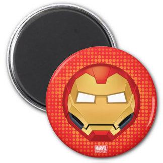 """I Am Iron Man"" Emoji Magnet"
