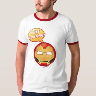 """I Am Iron Man"" Emoji T-Shirt"