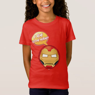 """I Am Iron Man"" Emoji T-Shirt"