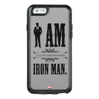 I Am Iron Man OtterBox iPhone 6/6s Case