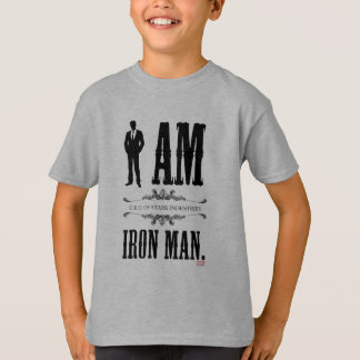 I Am Iron Man T-shirts