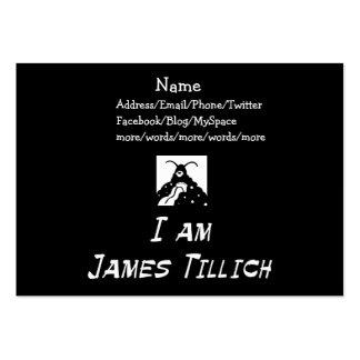 I Am James Tillich Large Business Card
