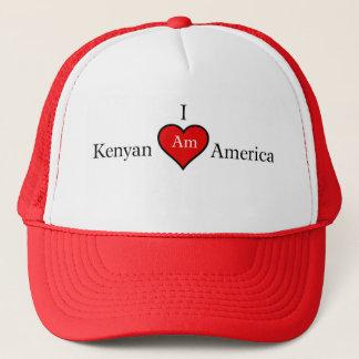 I AM KENYAN AMERICAN TRUCKER HAT