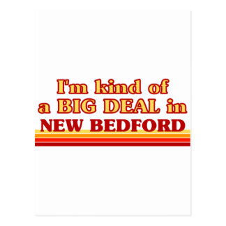 I am kind of a BIG DEAL in New Bedford Postcard
