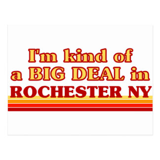 I am kind of a BIG DEAL in Rochester Postcard