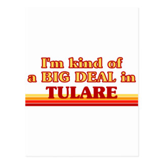 I am kind of a BIG DEAL in Tulare Postcard