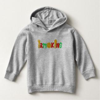 I am king kids hooted pullover kids Parker