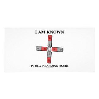 I Am Known To Be A Polarizing Figure (Quadrupole) Photo Card Template