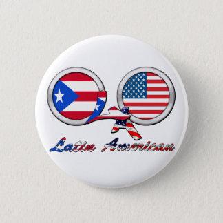 I Am Latin American Boricua 2 Inch Round Button
