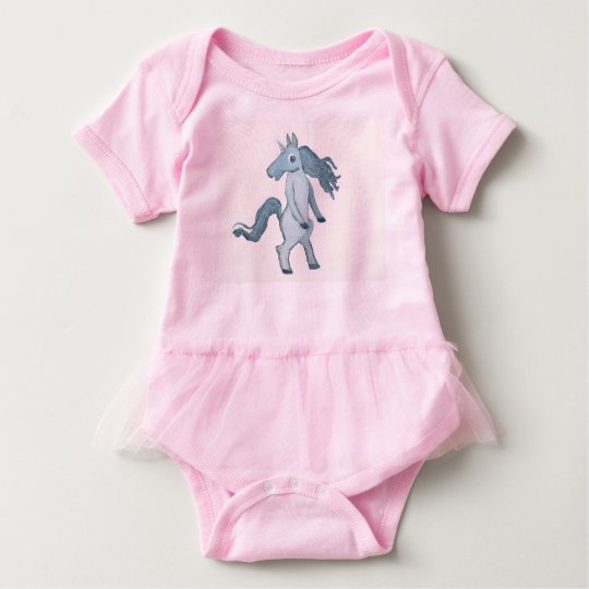 I Am Loved Unicorn Baby Bodysuit