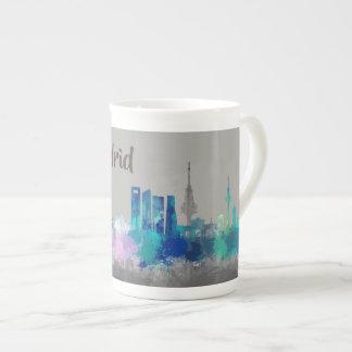 I am Madrid. Skyline city, City Tea Cup