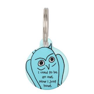 I am microchipped pet dog tag