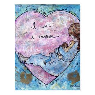 I am Mother Postcard