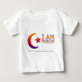 I AM MUSLIM ANTI TRUMP FACISM BABY T-Shirt