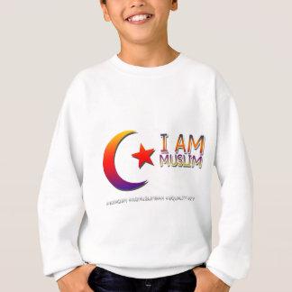 I AM MUSLIM ANTI TRUMP FACISM SWEATSHIRT