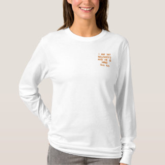 I AM MY BELOVED'S AND HE IS MINE!Sos 6:3 Embroidered Long Sleeve T-Shirt