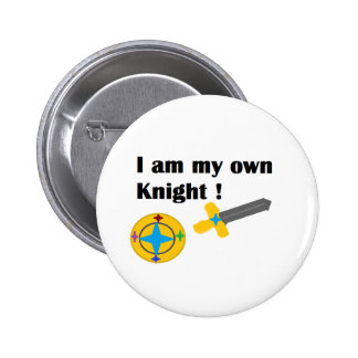 I am my own Knight button