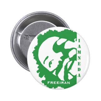 i am neda iran green button