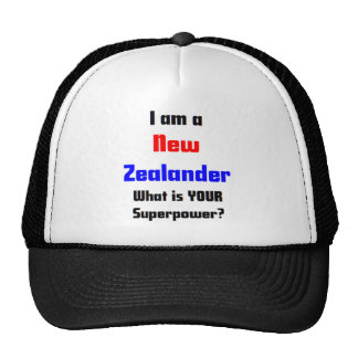 i am new zealander trucker hat