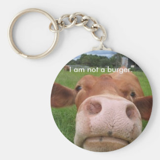 I am not a burger. keychain