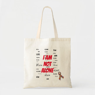 I Am Not Alone Tote Bag