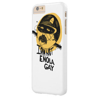 """""""I am not Enola Gay"""" yellow - iPhone 6/6s Plus Barely There iPhone 6 Plus Case"""