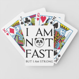 I AM NOT FAST(3) BICYCLE PLAYING CARDS