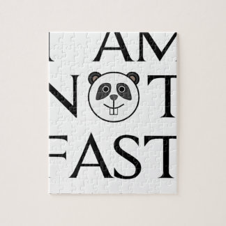 I AM NOT FAST(3) JIGSAW PUZZLE