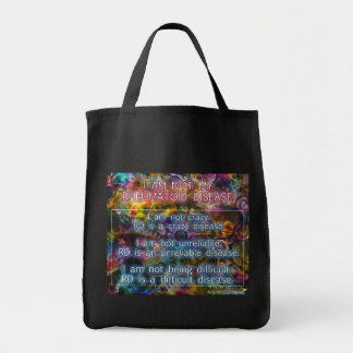 I am not my RD small tote