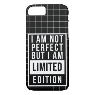 I am not Perfect But I am LIMITED Edition: Rap Mon iPhone 7 Case