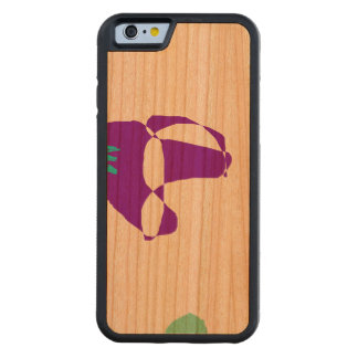 I Am Not Sad Carved Cherry iPhone 6 Bumper Case