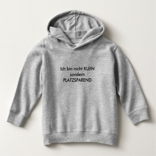 I am not SMALL but SPACE-SAVING Hoodie