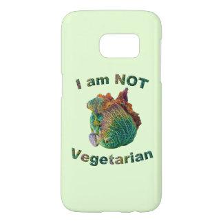 I Am Not Vegetarian Samsung Galaxy S7 Case
