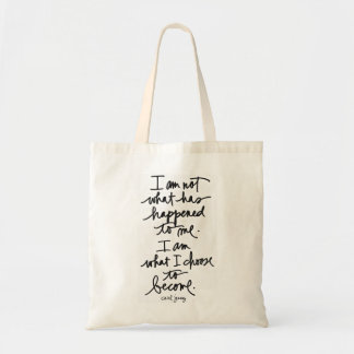 I am not what has happened to me tote bag
