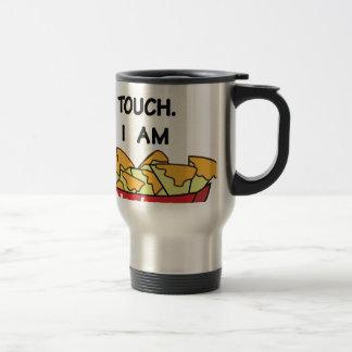 I am not yours travel mug
