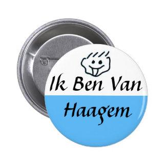 I am of Haagem 2 Inch Round Button