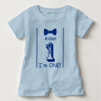 I am ONE! Baby Romper