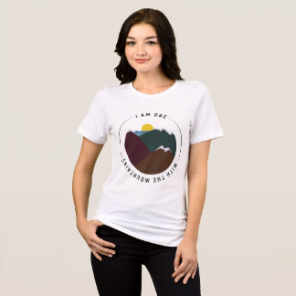 I am one with the mountains T-Shirt