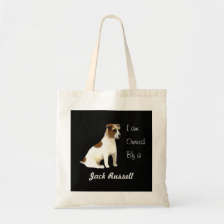 I am Owned by a Jack Russell Tote Bag