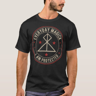 I Am Protected activated magickal sigil gift T-Shirt