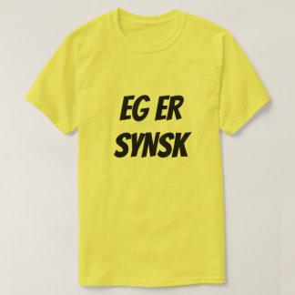 I am psychic, in Norwegian yellow T-Shirt