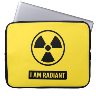 I am Radiant Laptop Sleeve