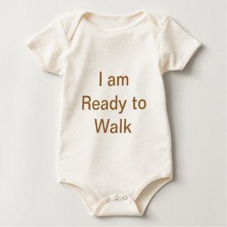 I am Ready to Walk Baby Bodysuit