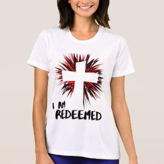 """""""I Am Redeemed"""" Inspirational Christian Shirt"""