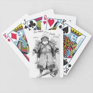 I_Am_Santa_Claus Bicycle Playing Cards