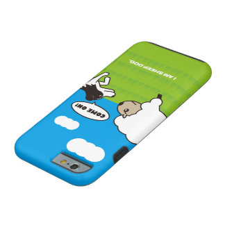 I AM SHEEP DOG Vibe iPhone 6 case