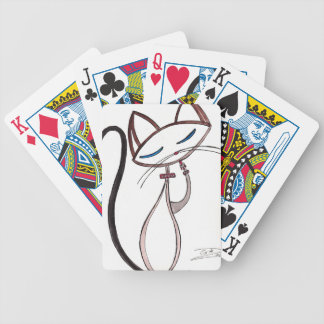 I am Siamese Bicycle Playing Cards
