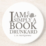 I Am Simply A Book Drunkard Funny Book Lover Quote
