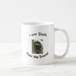 I am sloth! coffee mug