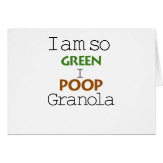 I Am So Green Card